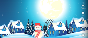 CHRISTMAS WINTER LIVEWALLPAPER